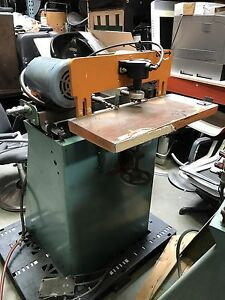 Ritter End Boring Woodworking Machine