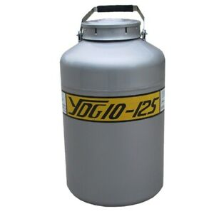 Hfs 10l Big Mouth Cryogenic Container Liquid Nitrogen Ln2 Tank Wide Open Mouth