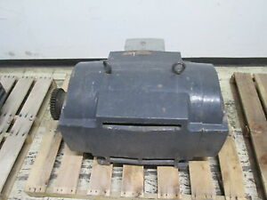 Us Motors Ac Motor 300hp 1800rpm Fr 447ts Df 460v 354a Used