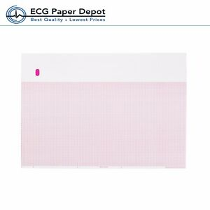 Ecg Ekg Thermal Paper 216mmx280mm Ge Marquette 9402 024 Compatible 5 Pack