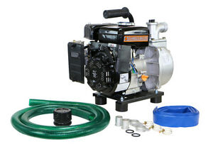1 5 Diameter Water Pump With Hose Kit Dirty Hand Tools