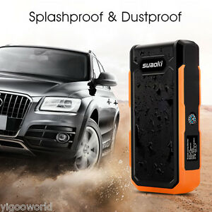 Portable 20000mah Auto Car Jump Starter Power Bank Battery Charger Booster 800a