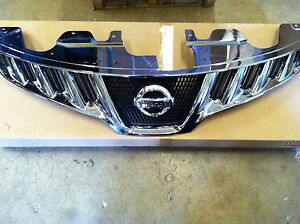 New Oem 2011 2014 Nissan Murano Chrome Front Grille Comes With New Emblem
