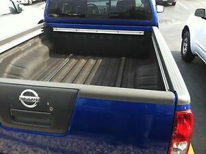 Oem 2005 2014 Nissan Frontier King Cab Bed Rail 3pc Kit Both Sides And Tailgate