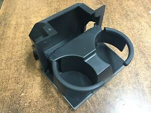 New Oem 2007 2014 Nissan Light Grey Rear Console Flip Down Cupholder Frontier