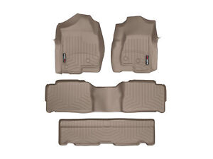 Weathertech Floor Mats Floorliner For Tahoe escalade yukon 1st 2nd 3rd Tan