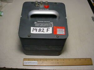 General Radio 1482 f Standard Inductor 2mh