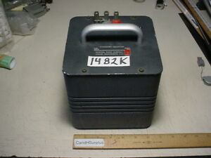 General Radio 1482k Standard Inductor 50 Mh