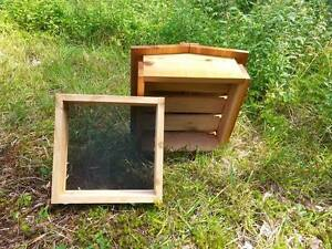 Warre Bee Hive Roof And Quilt Box New A Ka Farm Cedar fully Assembled