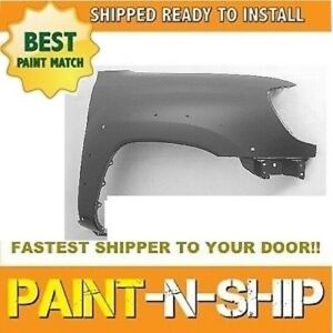 2010 2011 2012 2013 2014 Toyota Tacoma W Flr Hole Right Fender Painted To1241208
