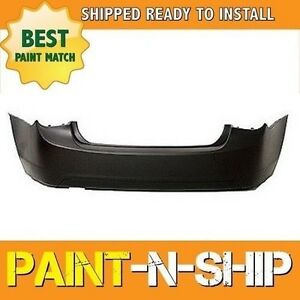 New Fits 2013 2014 Chevy Cruze W O Snsr Holes Rear Bumper Painted Gm1100876