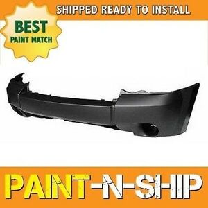 New Fits 2008 Jeep Grand Cherokee W O Chrome Front Bumper Painted Ch1000932