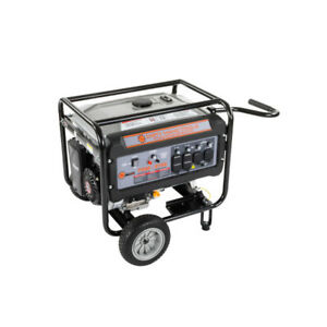 8750w Gas Powered Generator Dirty Hand Tools