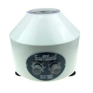 Hfs r Electric Centrifuge Lab Medical Practice 4000 Rpm 20ml X 6 Tube