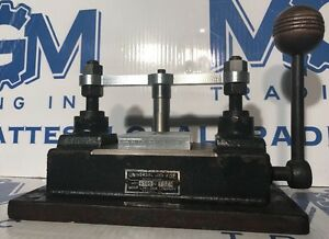 Universal Jig Vise Model 6500 Mohr Lino saw Company Box Jig No 1575