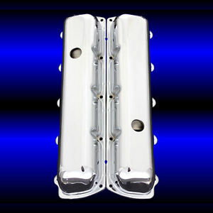 Valve Covers Fits Oldsmobile 330 350 455 Olds Engines Chrome