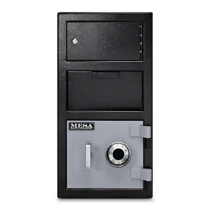 Security Combination Lock Jewelry Gun Money Cash Drop Box Safe Front Load Vault