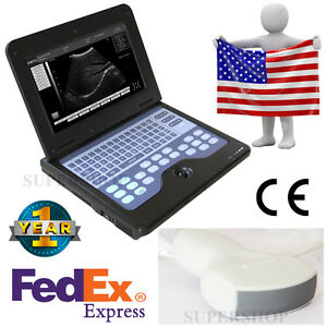 Usa Fedex Full Digital Portable Ultrasound Scanner Machine With Convex Probe ce