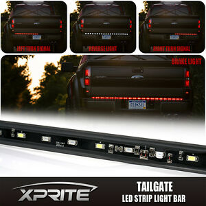 60 Led Tailgate Light Bar With Turn Signal Reverse Brake Light Pickup Truck Bed