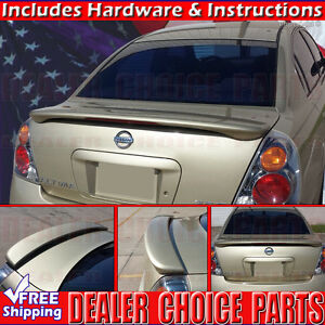 For 2002 2003 2004 2005 2006 Nissan Altima Factory Style Spoiler W led Primer