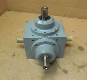 Tandler 01 zam I 2 1 68069 4 way Right Angle Gearbox Speed Reducer 1 1