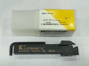 New Kennametal A2 Cutoff Tool Holder Left Hand A3scl100216