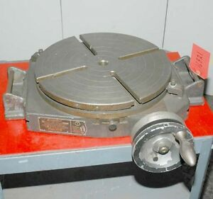 Bridgeport 15 Inch Rotary Table inv 16821