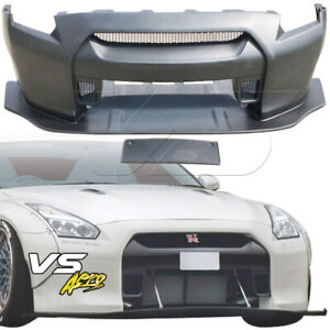 Vsaero Frp Lbpe Wide Body Front Bumper W Lip For Nissan Gt R Gtr R35 09 17