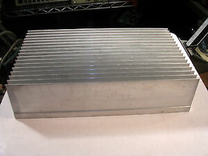 Heavy Aluminum Heat Sink 5 8 Base 2 75 Fins Nice Used