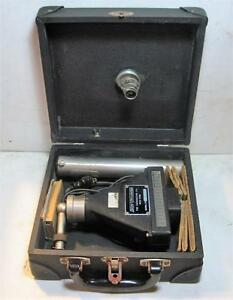 Vintage Davey Vibrometer Vibroscope With Original Case Sn 1c 1669 untested