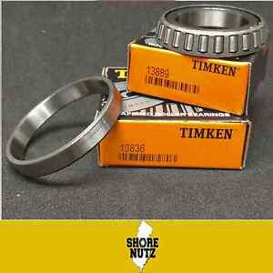 2 sets Timken 2 13836 2 13889 Tapered Roller Bearing Cup And Cone