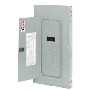40 Circuit 20 Space 100 Amp Indoor Electric Main Breaker Load Center Panel Box