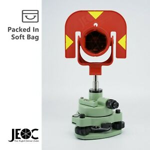 Single Prism Tribrach Set Gpr111 Reflector For Leica Total Station Surveying