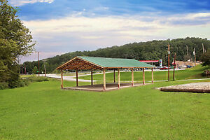 Steel Truss Pole Barn 40x60x12
