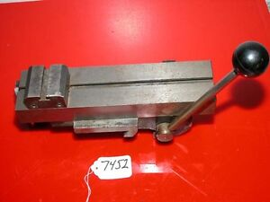 Hardinge Double Tool Cross Slide