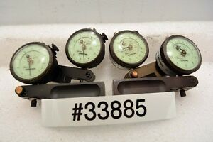 Lot Of Four Mahr Federal 12i Dial Indicators inv 33885