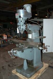 Bridgeport Vertical Milling Machine inv 8031
