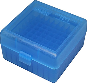Ammo Box Plastic For .223 5.56 Reloading Storage Portable Transport 100 Rounds .