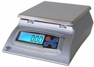 Kitchen Scale My Weigh Kd 8000 Silver Culinary Cooking Table Top Bakers Food