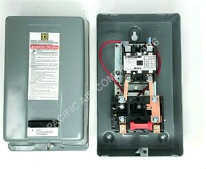 Air Compressor Magnetic Starter On Off Relay 5hp Single Phase 208 240 Volt