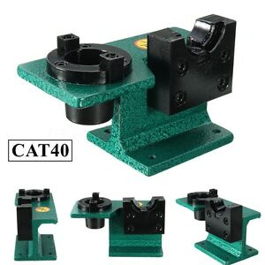 Cat40 Universal Cnc Tighten Tool Holder Tightening Fixture Clamping Green Us