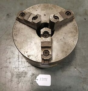 8 Inch 3 Jaw Chuck With D1 3 Mount inv 37195