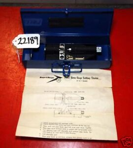 Brown Sharpe Bore Gage Setting Device 0 1in Range inv 22189