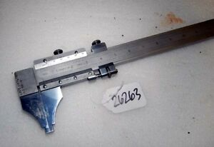 Brown Sharpe Inside outside 39 In Vernier Caliper inv 26263