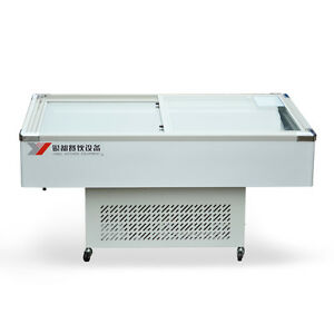 72 Insfish Cabinet Seafood Meat Case Freezer Display Ms72