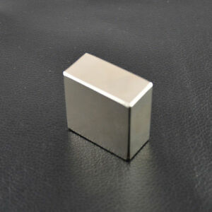 3xbig Bulk Super Strong Strip Block 40 40 20mm Magnets Rare Earth Neodymium N52