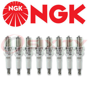 Set Of 8 Ngk R5671a10 5820 V Power Racing Spark Plugs Qty 8 R5671a 10 New