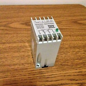 Sentrol Industrial Int o2 024 24 Vdc Guardswitch Monitor Relay