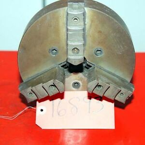 Skinner 7 3 4 In 3 jaw Dust Proof Chuck For Grinder inv 16893
