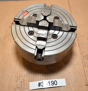 Southbend Chuck 8 Inch Diamter 4 Jaw Independent inv 34190